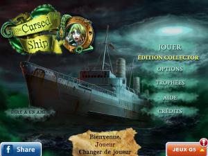 Le bateau maudit - Edition Collector - logo
