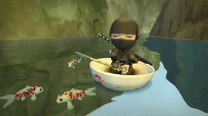 Mini Ninjas - fishes