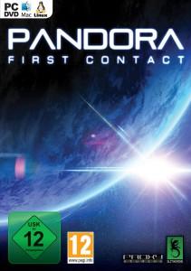 Pandora - First Contact - cover