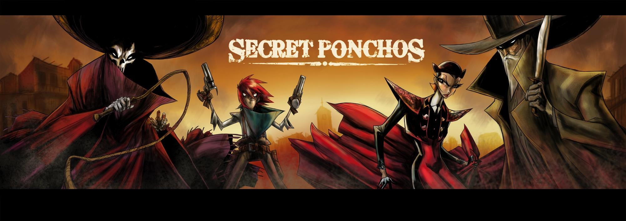 Secret Ponchos - bannière