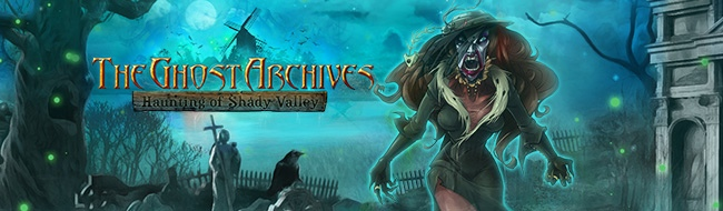 The Ghost Archives - Haunting of Shady Valley - bannière