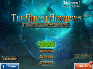 The Ghost Archives - Haunting of Shady Valley - logo