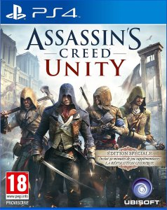 Assassin's Creed - Unity - cover