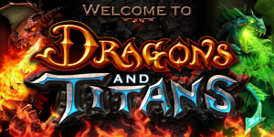 Dragons and Titans - logo