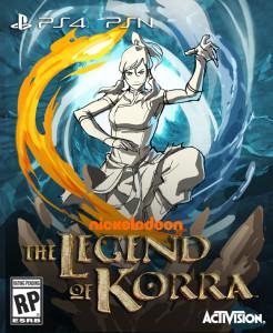 La Légende de Korra - cover 1