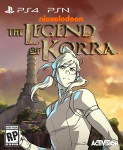 La Légende de Korra - cover 3
