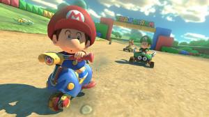 Mario Kart 8 - baby