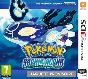 Pokémon Saphir Alpha - cover