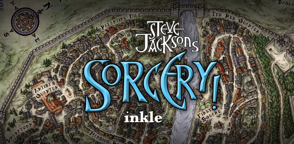 Steve Jackson's Sorcery! 2 - bannière