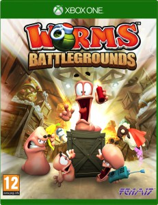 Worms Battlegrounds - cover