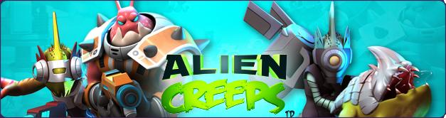 Alien Creeps TD - bannière