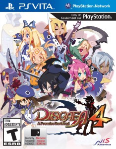 Disgaea 4 - A promise Revisited - cover