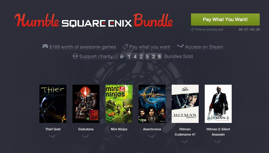 Humble Square Enix Bundle