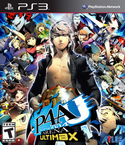 Persona 4 Arena Ultimax - cover