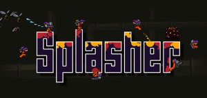 Splasher - logo