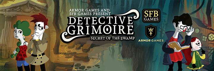 Detective Grimoire - bannière
