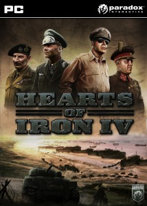Hearts of Iron IV - cover