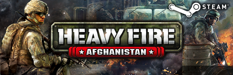 Heavy Fire - Afghanistan - banner