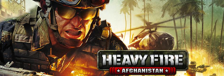 Heavy Fire - Afghanistan - bannière