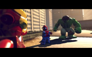 LEGO Marvel Super Heroes - iron man hulk spider man