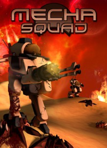Mecha Squad - cover
