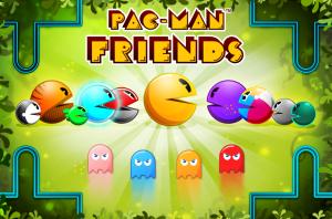 Pac-Man Friends - logo