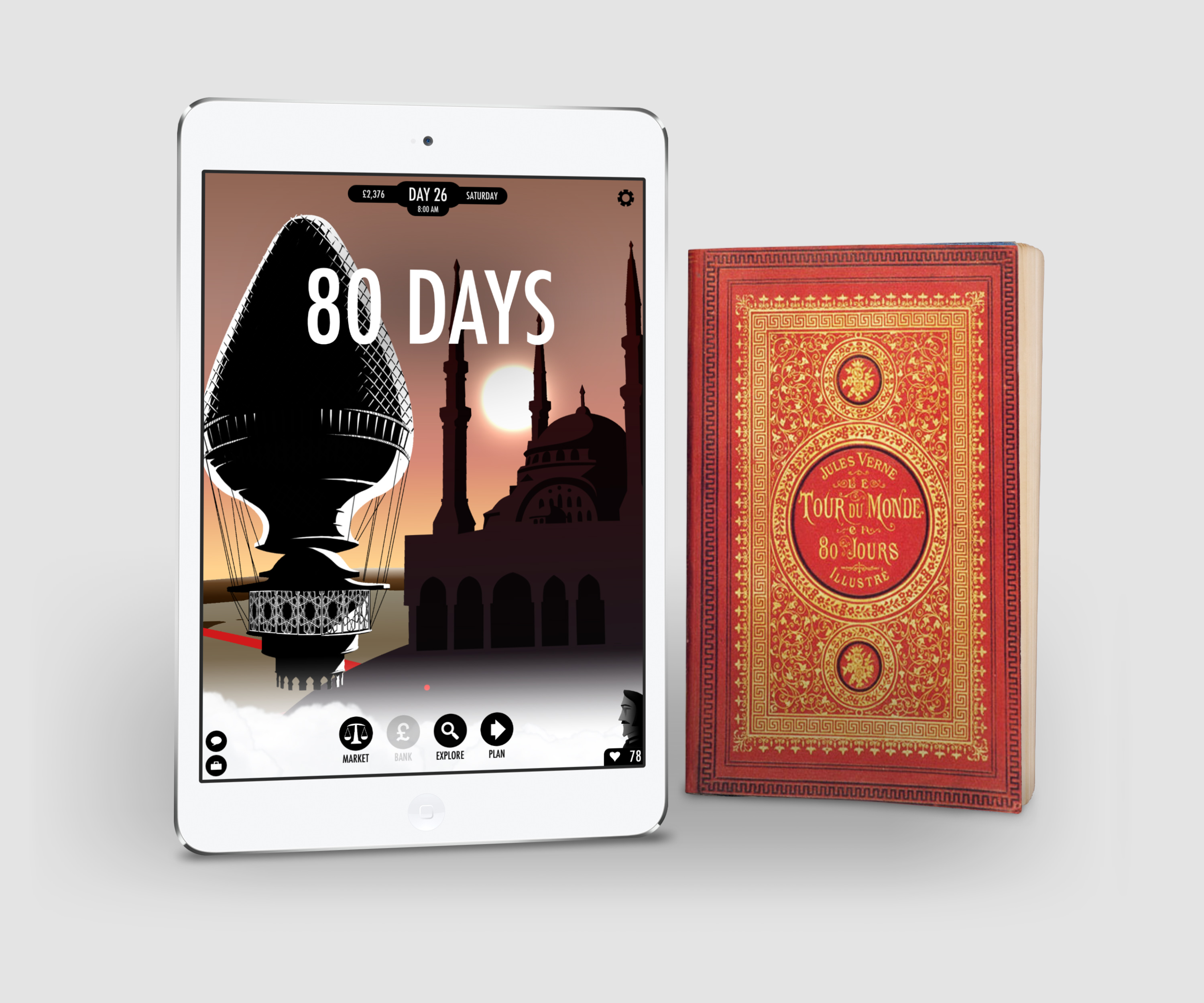 [TEST] 80 Days – la version pour iPad