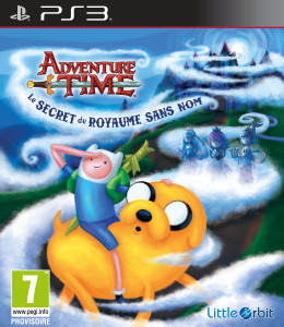 Adventure Time - Le Secret du Royaume Sans Nom - jaquette
