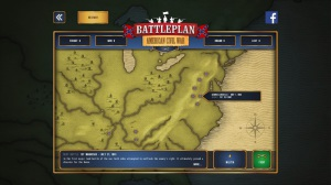 Battleplan - American Civil War - carte