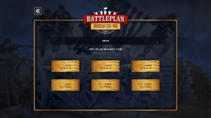 Battleplan - American Civil War - menu