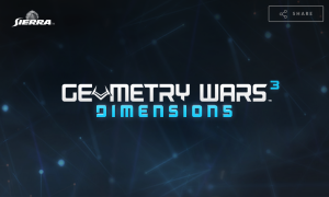 Geometry Wars 3 - Dimensions - logo