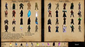 Runers - race & classe
