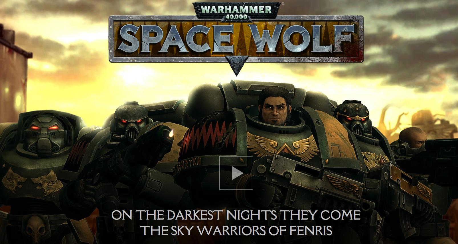 Warhammer 40.000 - Space Wolf - Space Marines