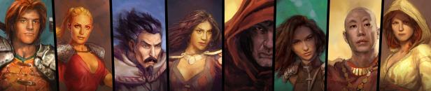 Darkstone - personnages