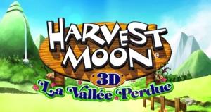 Harvest Moon La Vallée perdue - logo