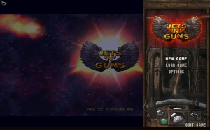 Jets'n'Guns Gold - menu