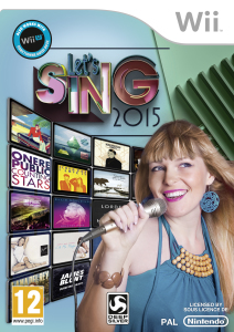 Let's Sing 2015 - cover