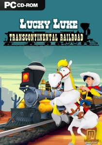 Lucky Luke - Transcontinental Railroad - cover