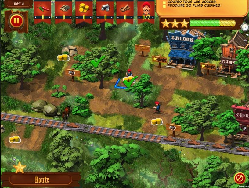 Lucky Luke : Transcontinental Railroad