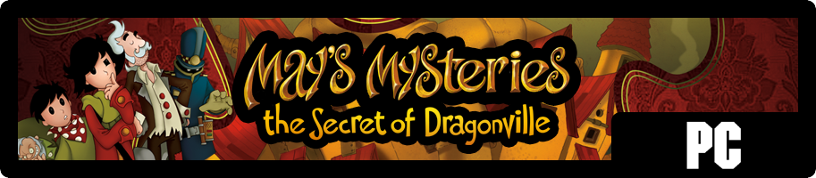 May's Mysteries The Secret of Dragonville - bannière