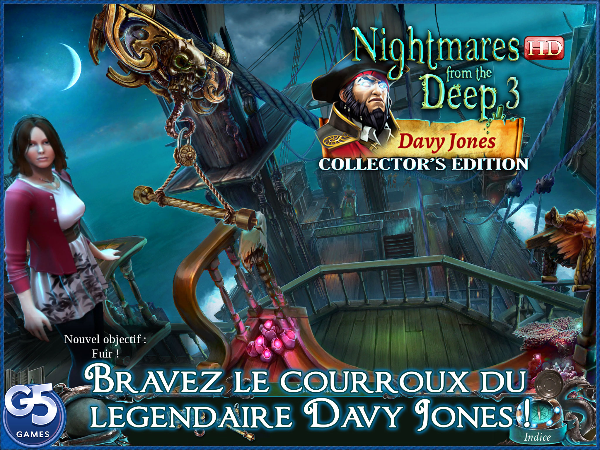 [TEST] Nightmares from the Deep : Davy Jones Collector's Edition – la version pour iPad