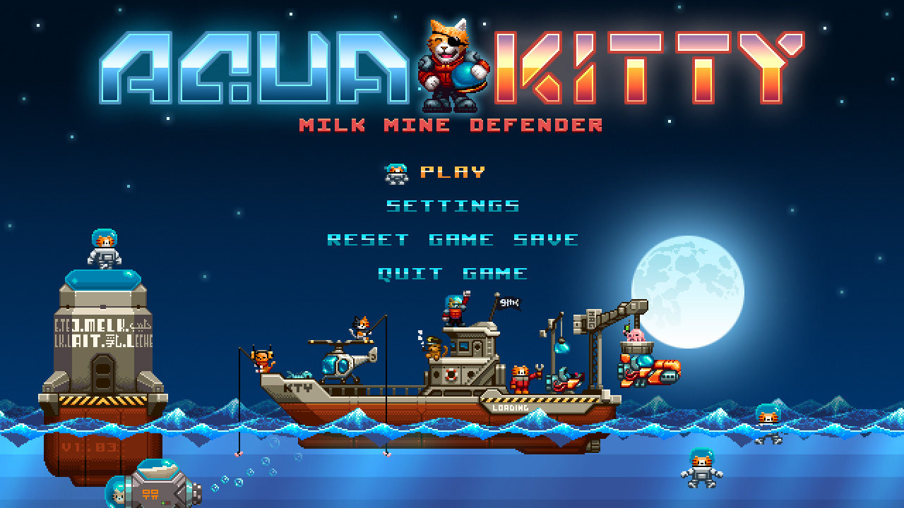 Aqua Kitty – Milk Mine Defender