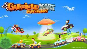 Garfield Kart - Fast & Furry - bannière