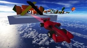 Jet Car Stunts - saut