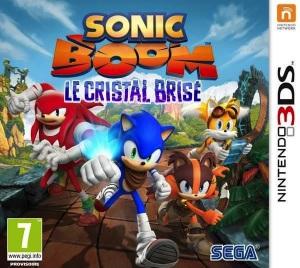 Sonic Boom Le Cristal Brisé - cover