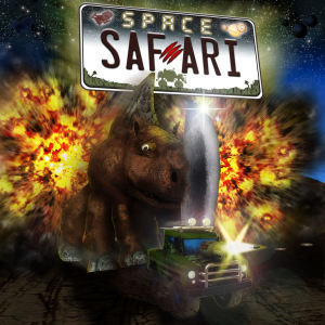 Space Safari - logo