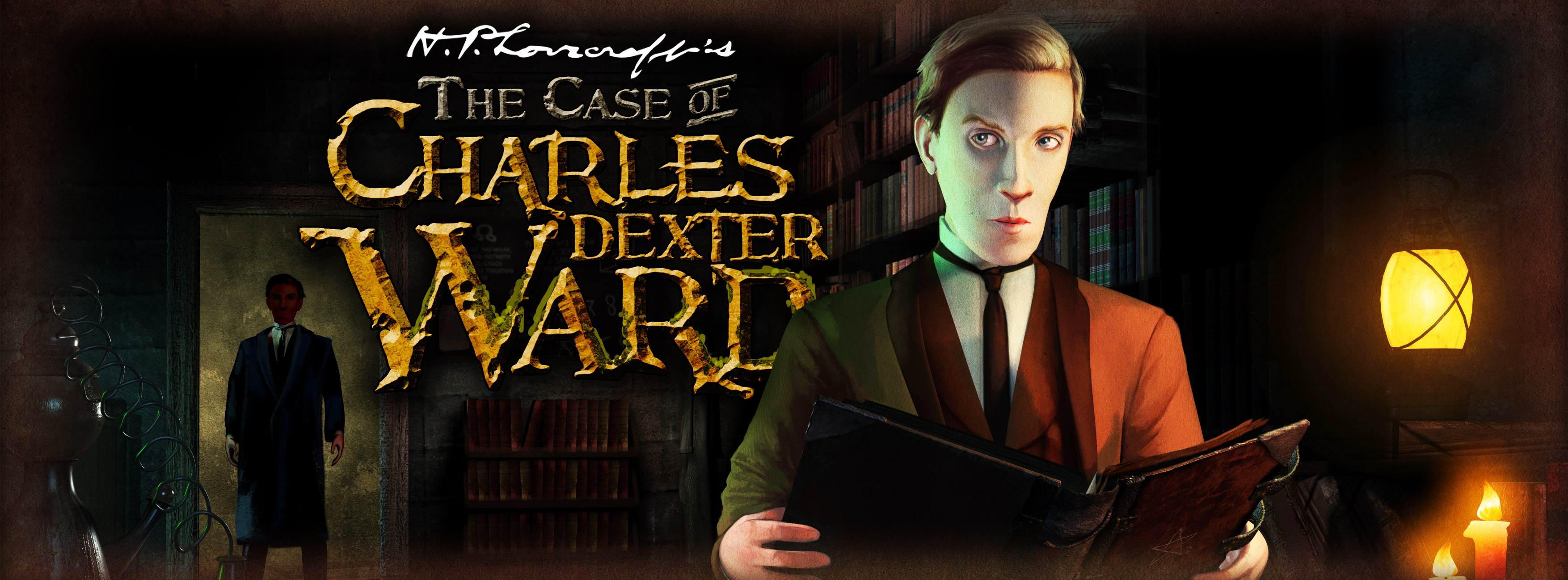 The Case of Charles Dexter Ward - bannière