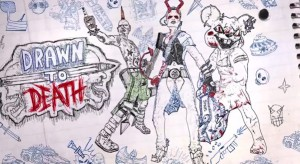 Drawn to Death - logo