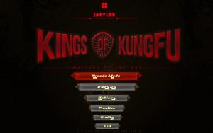 Kings of Kung Fu - menu