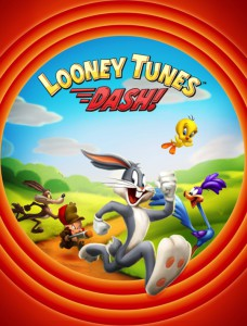 Looney tunes, La course ! - logo